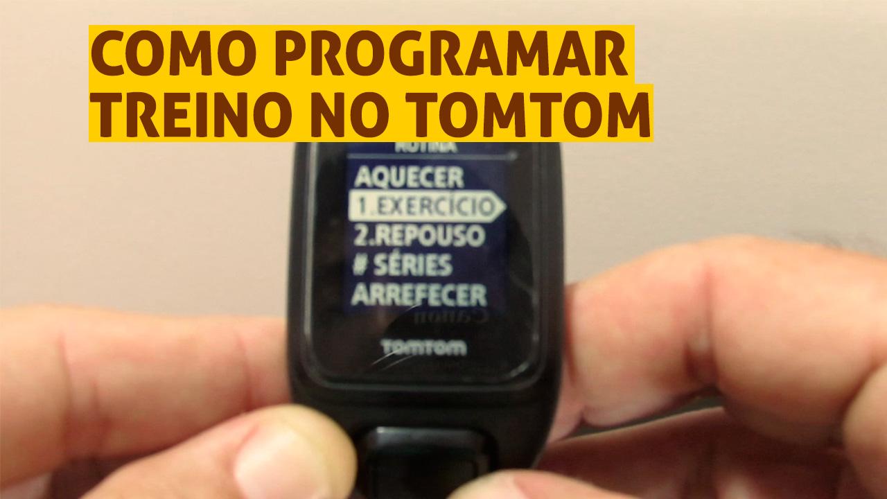 TomTom Runner 2: Como programar o treino intervalado