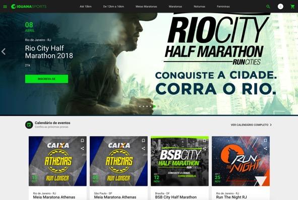 Iguana Sports apresenta nova plataforma de inscrições