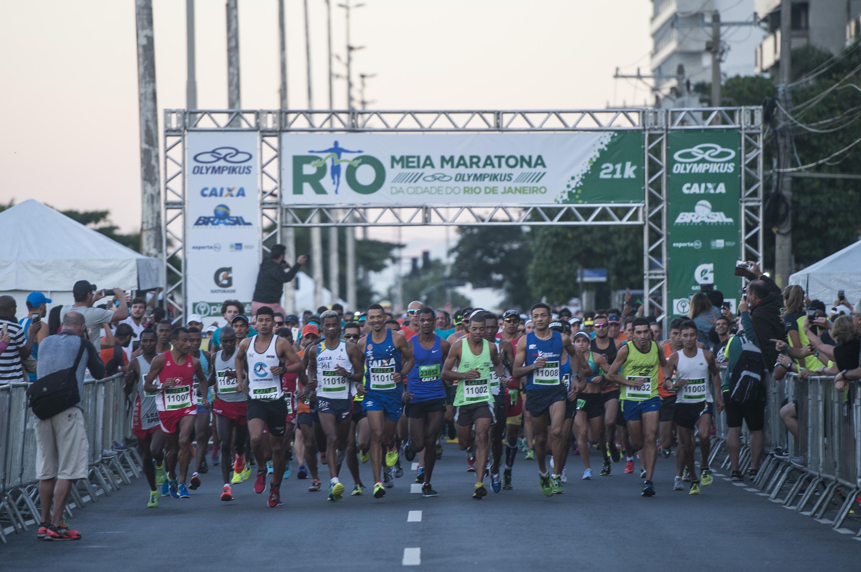 65574d5a3b7 Maratona do Rio  inscrições esgotadas para a Meia Maratona Olympikus ...