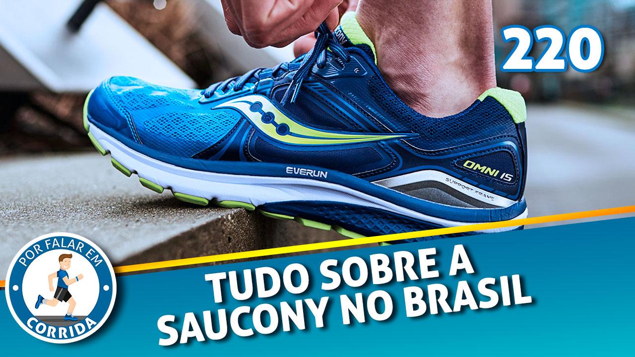 saucony no brasil