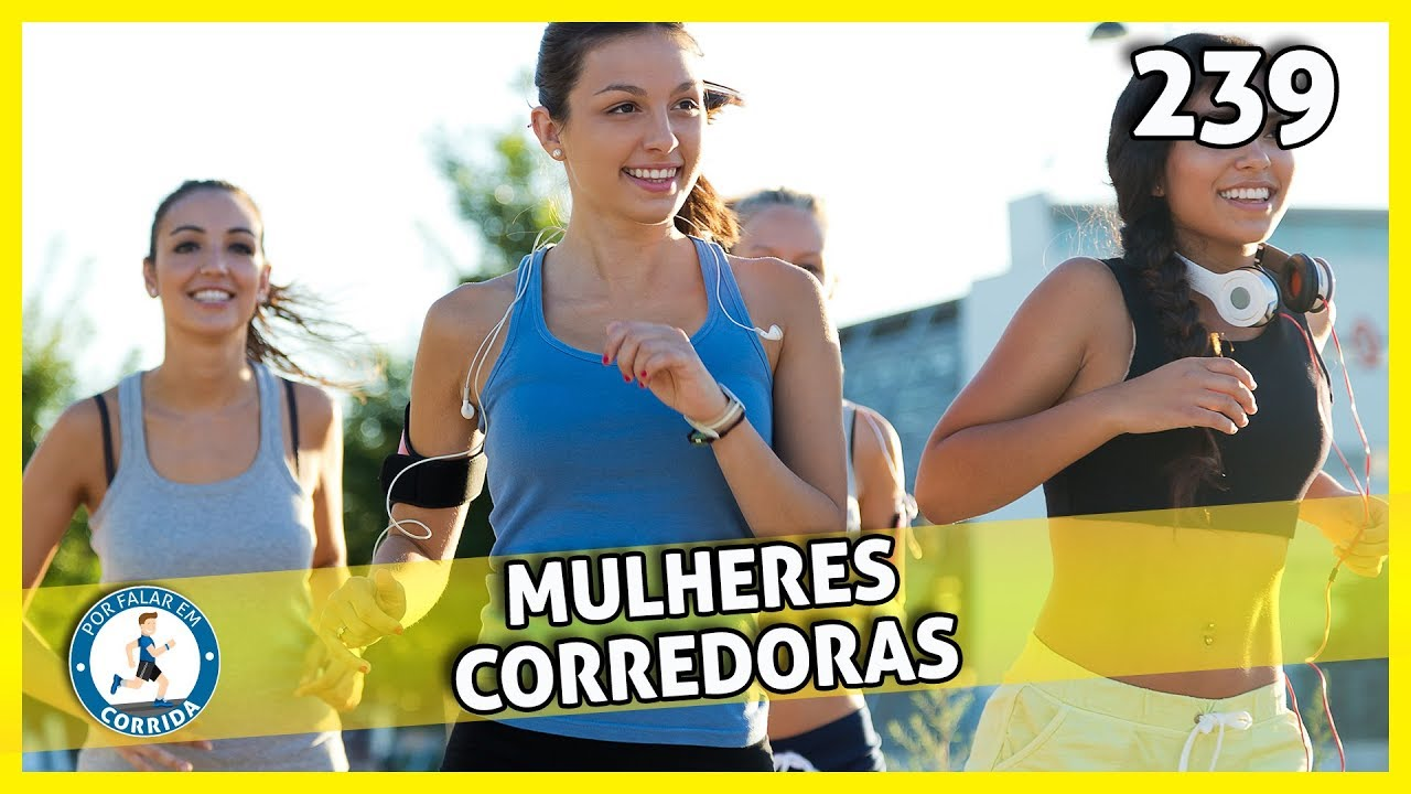mulheres corredoras