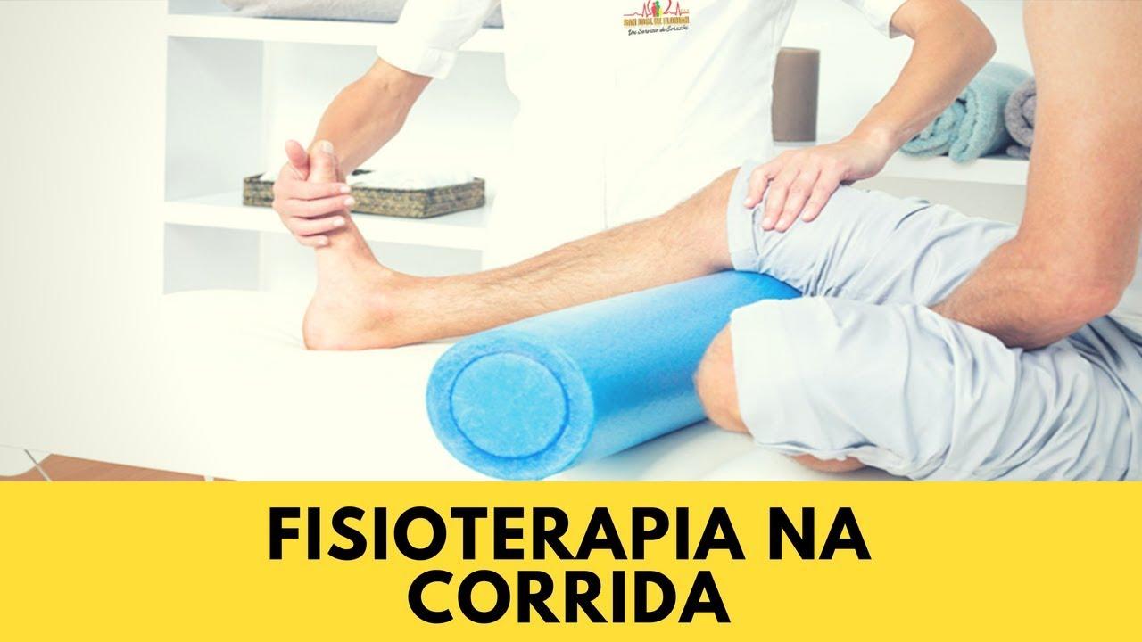 Fisioterapia na Corrida